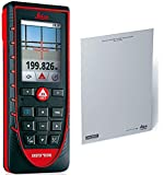 Leica Disto E7500i 500ft Laser Distance Measure with Bluetooth, Color Viewscreen, Red/Black (Bluetooth + Target)