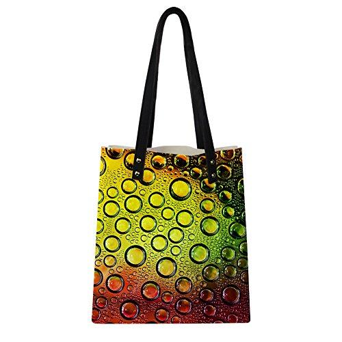 Advocator Print PU Leder Tasche mit Brieftasche für Frauen Casual Reise Handtasche Lehrer Totes Tasche Color-1