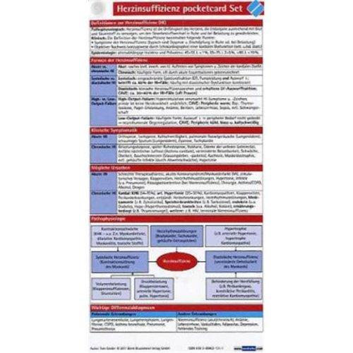 Herzinsuffizienz pocketcard Set (3er)