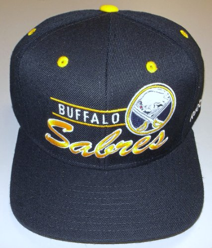 Reebok Buffalo Sabres Snap Back Retro Hat - OSFA -NF91Z