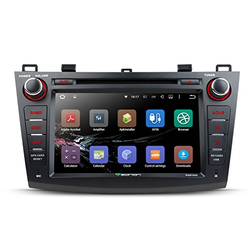 Eonon GA6163F Android 5.1 Car DVD Player Special for Mazda 3 2010-2013Lollipop In Dash GPS Radio Stereo 8 Inch 2 DIN Multimedia Touch Screen Bluetooth Steering Wheel Control