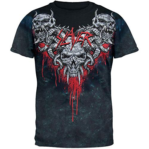 - Slayer - Hell Awaits Tie Dye T-Shirt