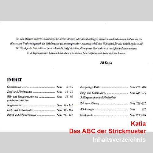 Katia Das ABC der Strickmuster: Amazon.de: Küche & Haushalt