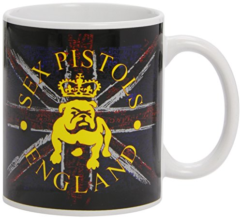 11oz The Sex Pistols Bull Dog & Flag Mug by Loud Distribution