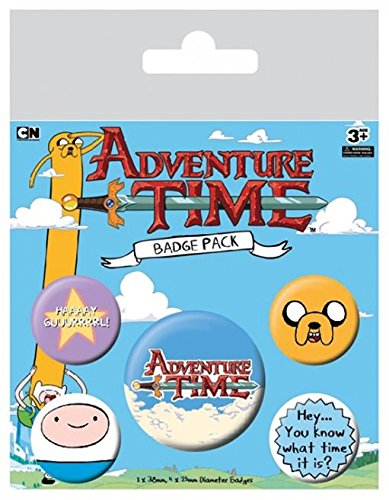 Adventure Time Spilla Pin Badges 5 Pack Pyramid International