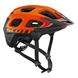 Scott Vivo Helmet – 2016 – orange flash/black, medium For Sale