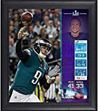 Sports Memorabilia Nick Foles Philadelphia Eagles Framed 15'' x 17'' Super Bowl LII Champions Collage - NFL Player Plaques and Collages