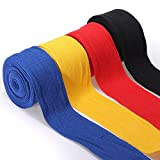 2PCS 2.5M Cotton Boxing Handwraps Bandages Punching Hand Wraps (Random) by DOM