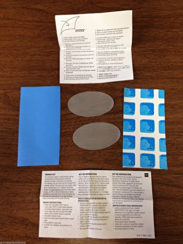 Intex Above Ground Pool Patch Material ONLY Repair KIT(NO Glue Included)