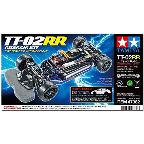 タミヤ RC特別企画商品 1/10RCC TT02RR シャーシキット 47382