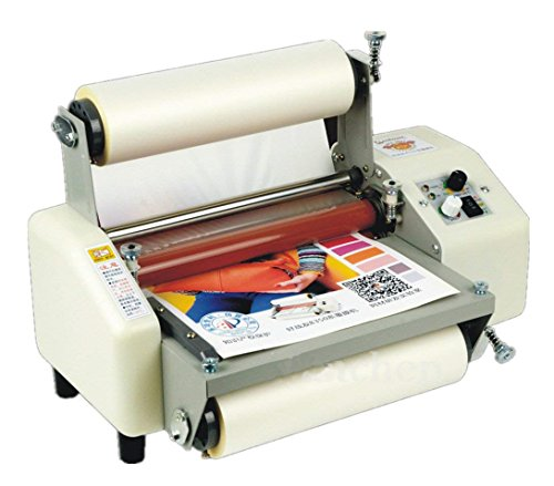 8230 Film Laminator Four Rollers Hot and Cold Roll Laminating Machine for 8.66