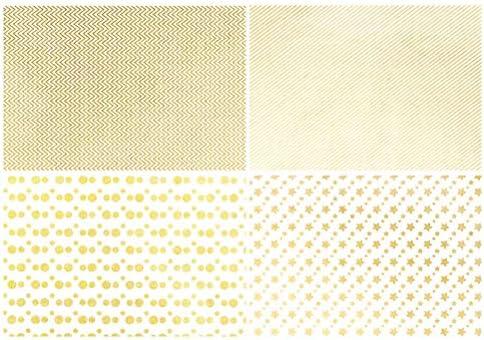 Healifty 4PCSリバーシブル包装紙セット用誕生日ホリデーウェディングギフト用包装紙50x70cm