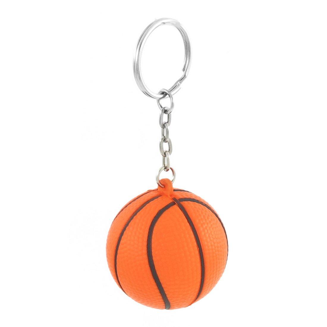 Naranja Y Negro Baloncesto Forma Sport Bola De La Tensión Enlace ...