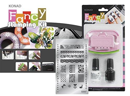 Kit Fancy 3 Konad Original. Fancy Stamping Kit Konad España