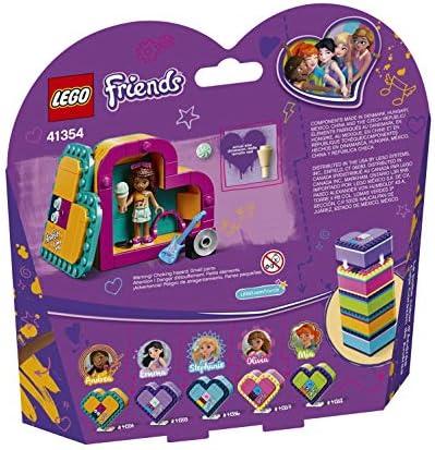 LEGO Friends - Caja Corazón de Andrea, divertido set de construcción coleccionable para guardar tus cosas (41354): LEGO: Amazon.es: Juguetes y juegos