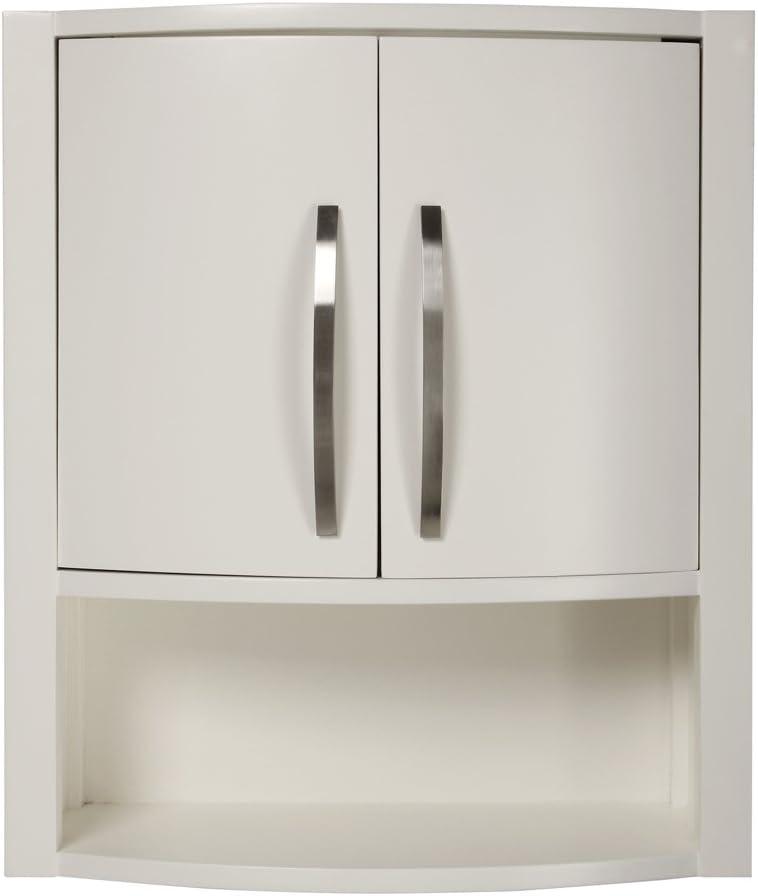 White Decolav 5255-WHT Lola 22-Inch Wall Cabinet