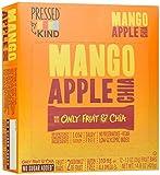 Pressed by KIND Fruit Bars, Mango Apple Chia, No Sugar Added, Non GMO, Gluten Free, 1.2oz, 12 Count
