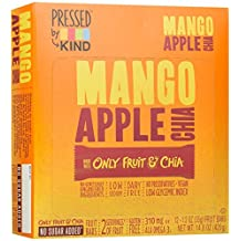 Pressed by KIND Fruit Bars, Mango Apple Chia, 12 Count