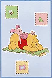 Disney Baby Winnie the Pooh Bedtime Stories Luxury Plush Throw Blanket (30 in. x 45 in.)