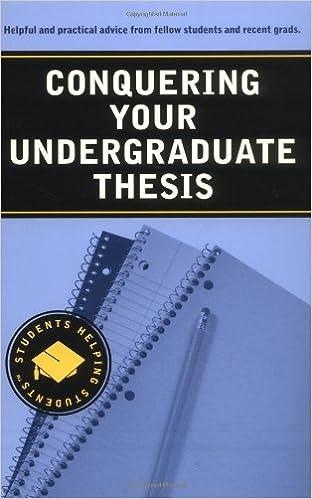 Undergraduate thesis