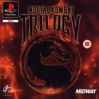 Mortal kombat trilogy (psx) game playstation mortal kombat.