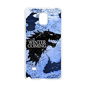 Winter coming map Cell Phone Case for Samsung Galaxy Note4