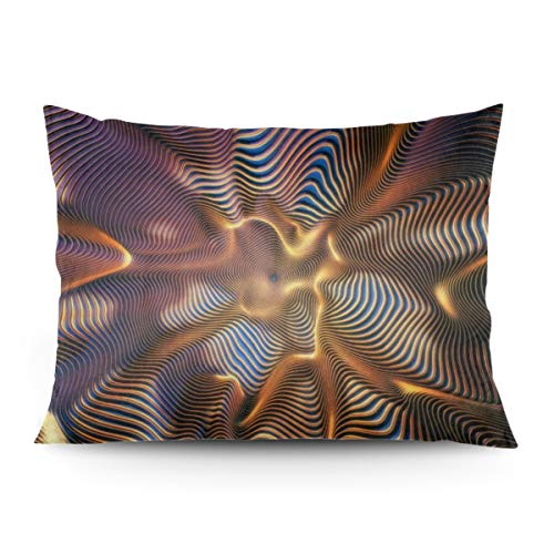 Eratdatd Customized Wormhole Art Wallpaper 2026 in Pillow Cover, Sofa Bed Pillow Durable, Machine Wash Pillow Cover