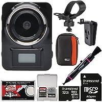 Vivitar DVR906HD HD LifeCam Digital Video Camera Camcorder Body Cam with 32GB Card + Case + Kit