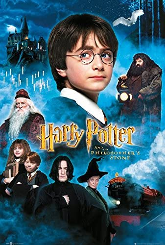 Amazon.com: Harry Potter and The Sorcerer's Stone - Movie Poster ...