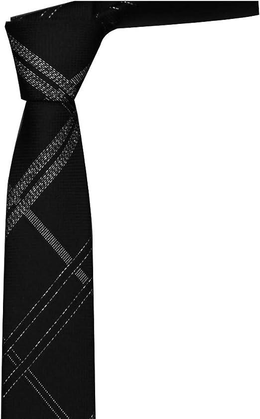GuanBen Corbata para Hombre y Corbata para Hombre, 6 cm de Seda ...