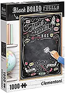 Clementoni Think Outside The Box Black Board Puzzle - 14 Years & above