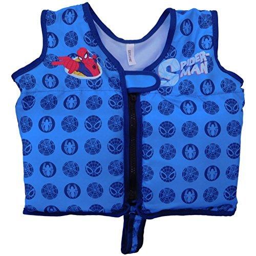 (Swimways Swim Vest Spiderman sz 2-4)
