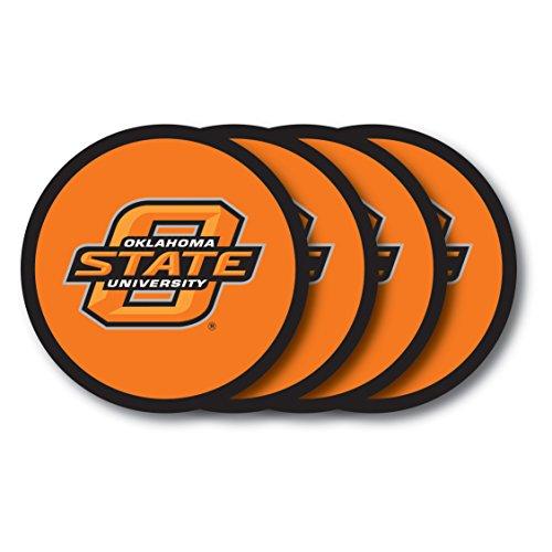 NCAA Oklahoma State Cowboys Vinyl Coaster Set (Pack of 4)
