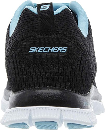 Skechers Choice Obvious Flex bleu Appeal Noir Multisports Outdoor Femme HH1aTqx