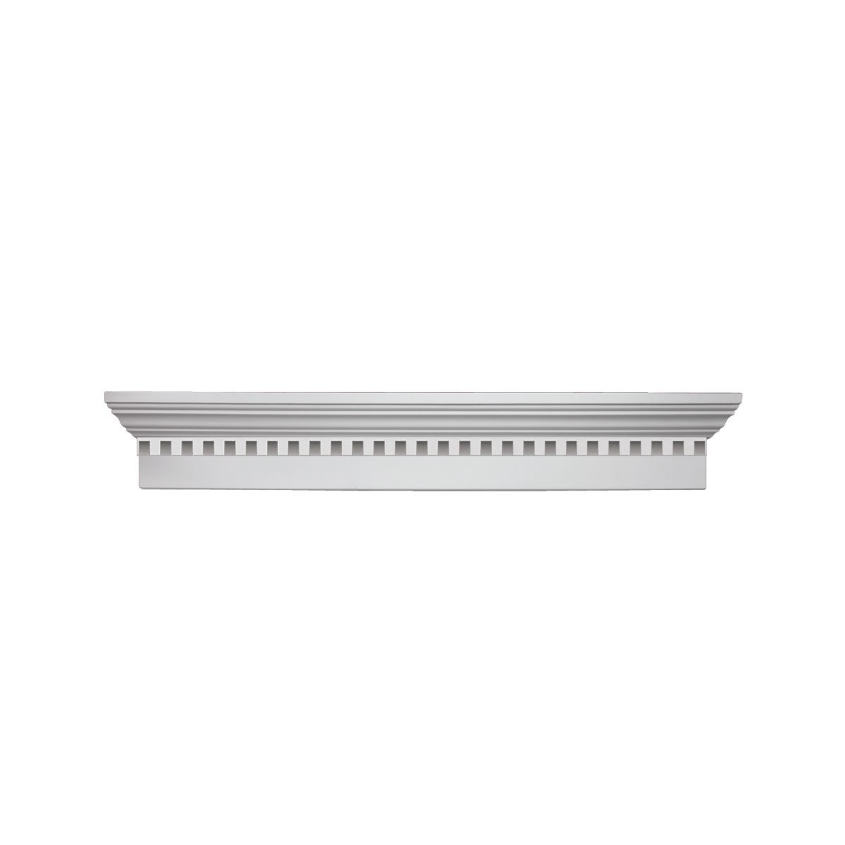 6 Crosshead With Dentil Trim 68W x 71 1/2OW Fypon