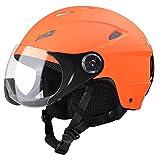Yescom Kids Snow Sports Helmet ATSM Certified for Ski Skate Board Protective Orange S