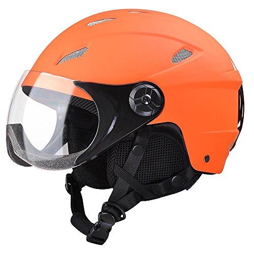 Yescom Kids Snow Sports Helmet ATSM Certified for Ski Skate Board Protective Orange S by Yescom