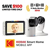 KODAK Cherish C525 Video Baby Monitor + C120 Additional Camera - with Mobile App - 5