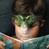 headlights for kids - DinoBryte LED Headlamp - T-Rex Headlamp for Kids | Realistic Roar Sounds