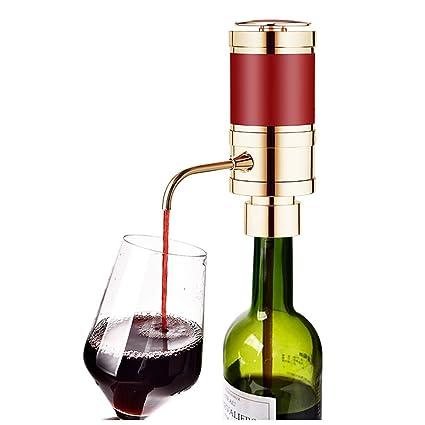 NHLXJQ Aireador rápido para Vino Tinto, Ventilador eléctrico portátil de Botella y automático para Vino