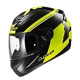LS2 FF352-L Rookie Bulky Helmet,( Matt Black Yellow,L)