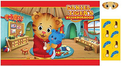 Amscan Daniel Tiger's Neighborhood Party Game