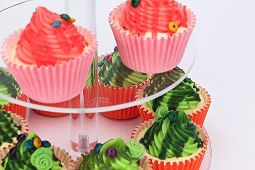 weddingwish 3 Tier Round Acrylic Cupcake Stan(New) … … by weddingwish (Image #4)
