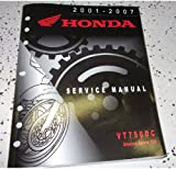 2001 2002 2005 2007 Honda VT750DC Shadow Spirit 750 Service Shop Repair Manual