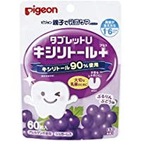 Pigeon Dental Care Tablet Grapes, 60 count