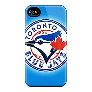 CEs12809mDuj Cases Skin Protector For iphone 4 4s Toronto Blue Jays With Nice Appearance