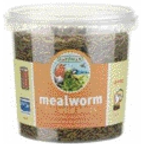 Gardman BA04513 Mealworm Tub Medium – 7 oz. (200 gram), My Pet Supplies