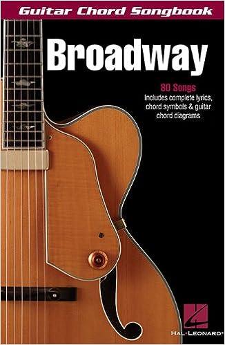 Amazon Broadway Guitar Chord Songbook 9781423425281 Hal