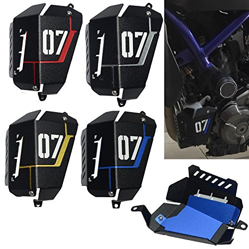 Radiator Water Coolant Resevoir Tank Guard Cover for YAMAHA MT-07 FZ-07 MT07 FZ07 2013-2016 2014 2015 Motorcycle (Resevoir Tank)