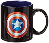 ICUP Marvel's Captain America Shield Iridescent 20oz. Ceramic Mug
